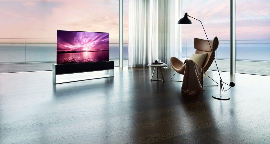 LG lanza al mercado el primer y único televisor enrollable del mundo